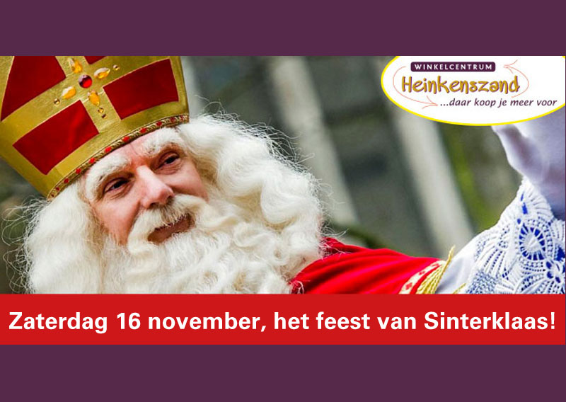 Sinterklaasfeest in Heinkenszand